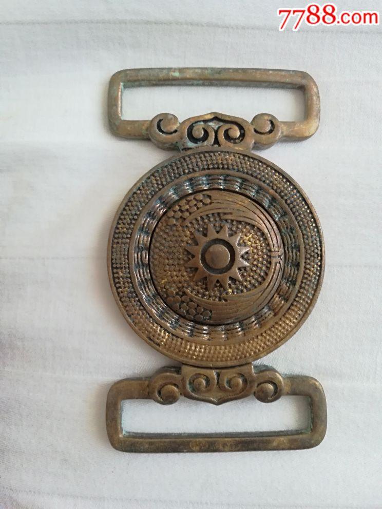銅腰帶扣_價格150元_第1張_