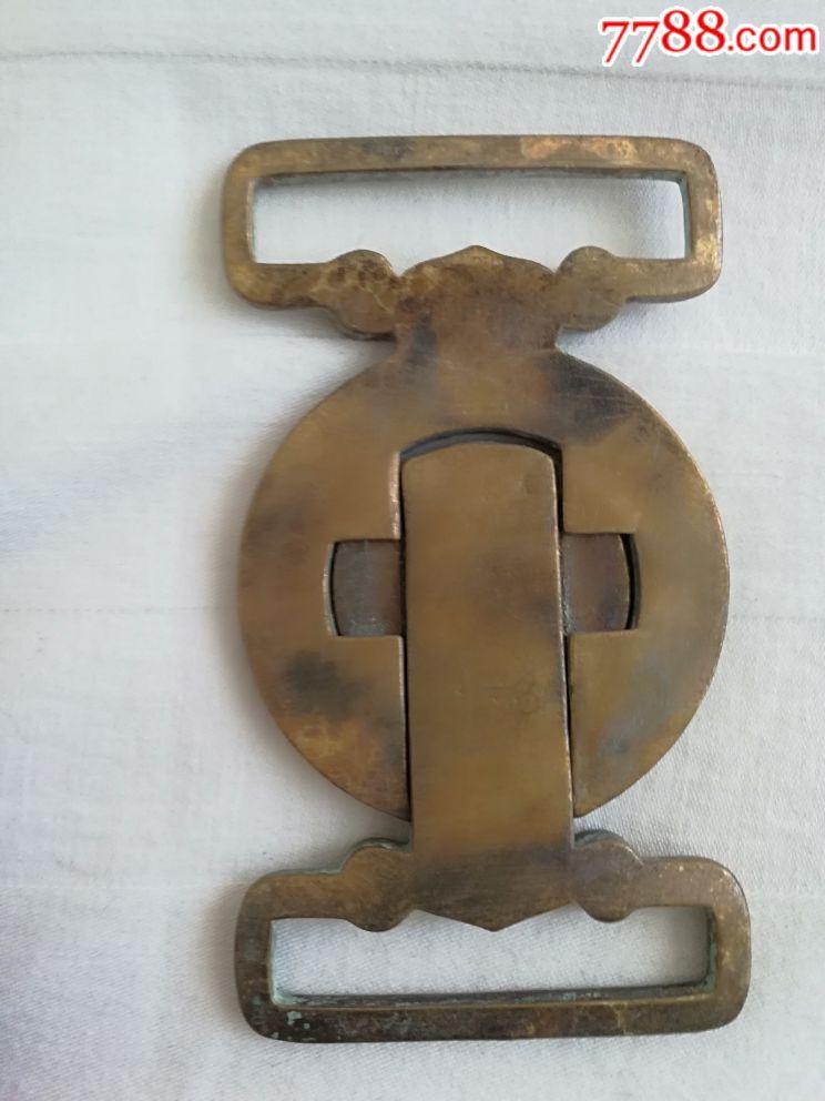 銅腰帶扣_價格150元_第2張_