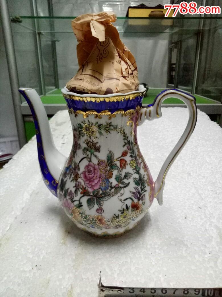 五六十年代外销精品瓷壶,全新未用_价格175元_第2张_