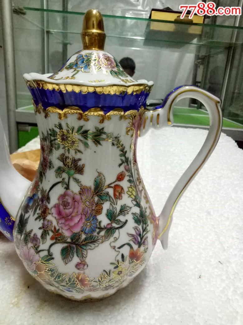 五六十年代外销精品瓷壶,全新未用_价格175元_第3张_