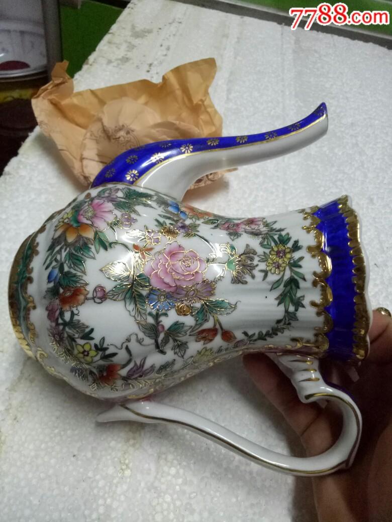 五六十年代外销精品瓷壶,全新未用_价格175元_第12张_
