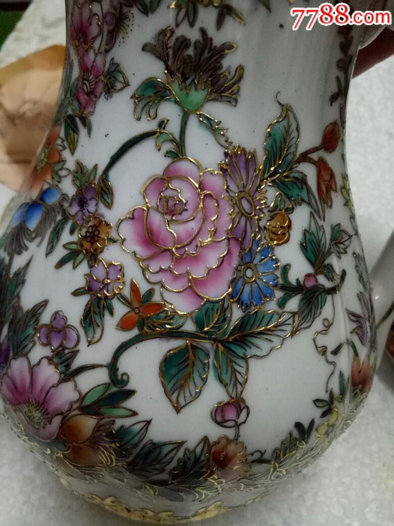 五六十年代外销精品瓷壶,全新未用_价格175元_第14张_