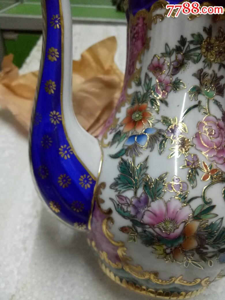 五六十年代外销精品瓷壶,全新未用_价格175元_第15张_