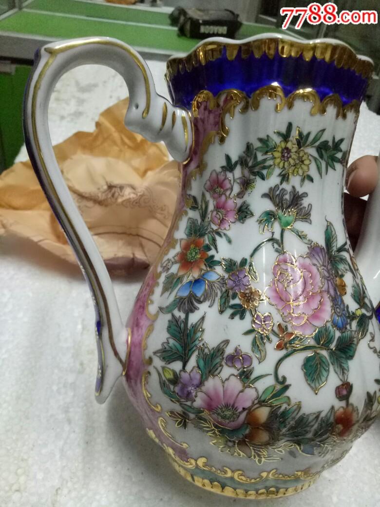 五六十年代外销精品瓷壶,全新未用_价格175元_第19张_