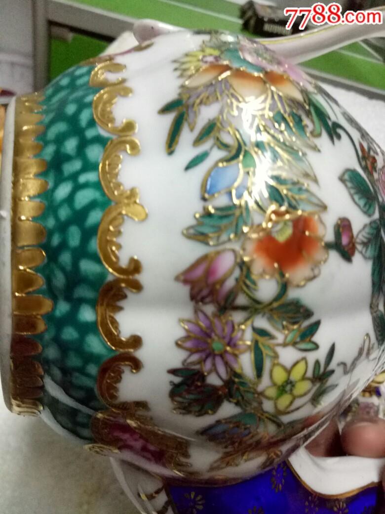 五六十年代外销精品瓷壶,全新未用_价格175元_第22张_