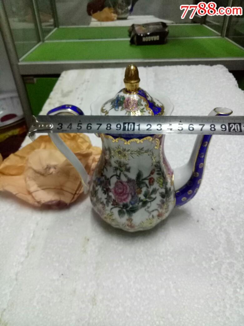 五六十年代外销精品瓷壶,全新未用_价格175元_第23张_