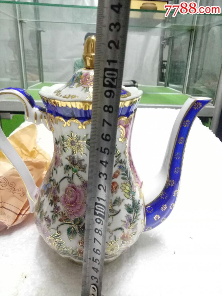 五六十年代外销精品瓷壶,全新未用_价格175元_第24张_