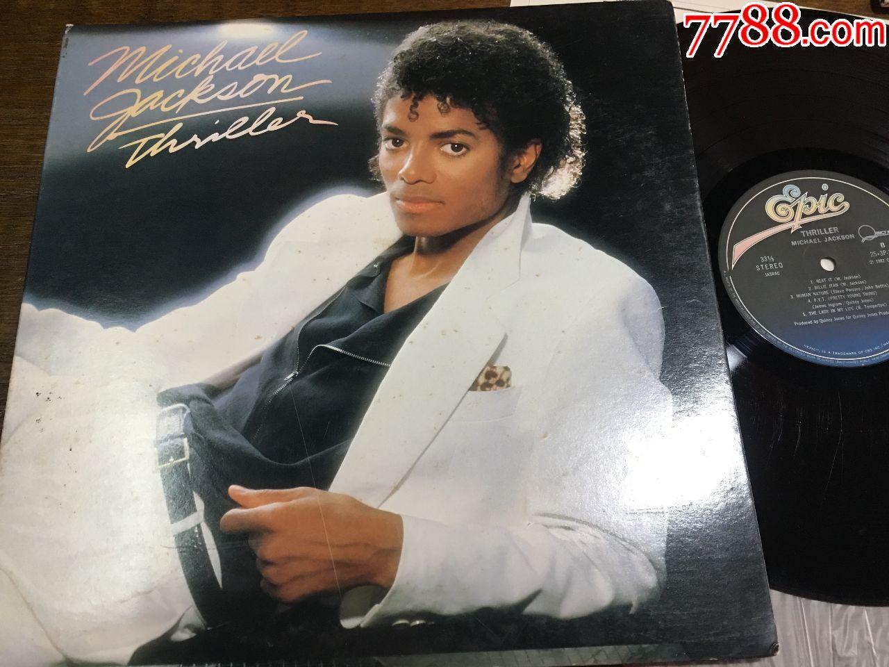 迈克尔杰克逊黑胶唱片―颤栗首版、史上最成功的最伟大的专辑1.04亿、永远无人超越(au20711097)_