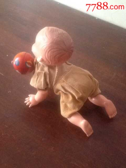 爬行婴儿娃娃(au20730564)_