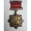防空军积极分子代表大会纪念章1957(au20783629)_7788收藏__收藏热线
