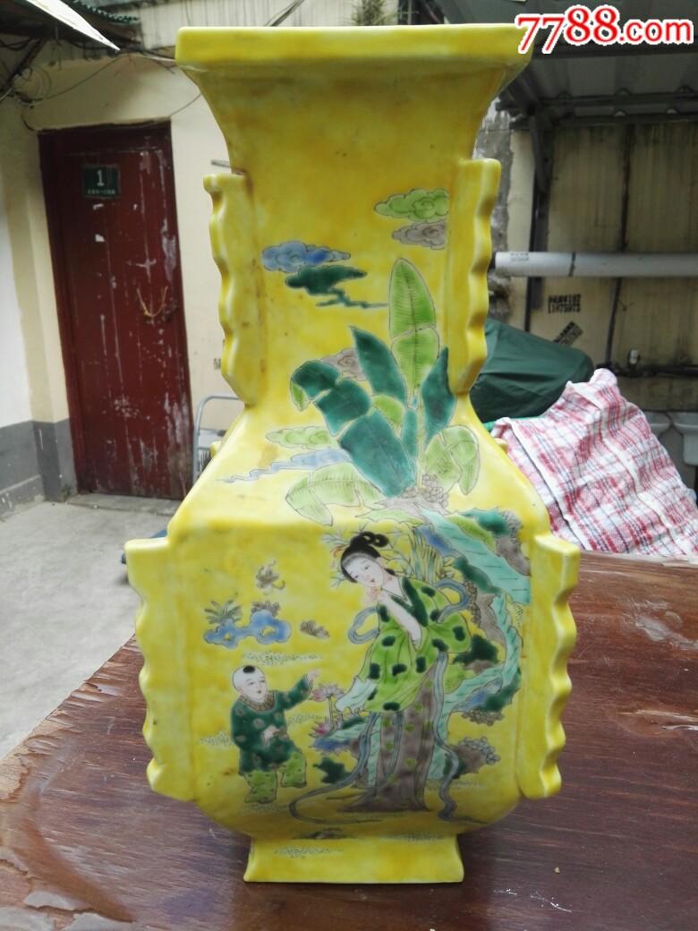 瓷花瓶,有碰(au20820239)_