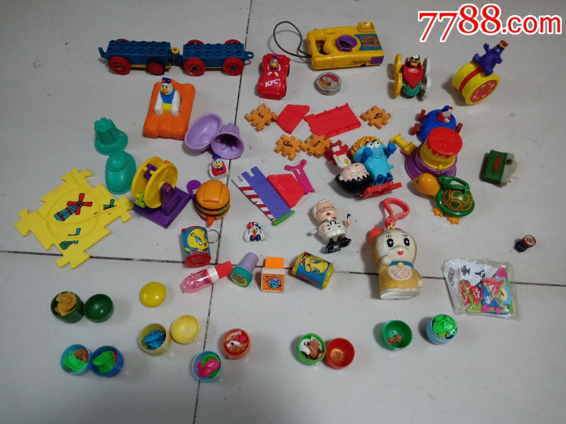 肯德基麦当劳等玩具一组(au20845254)_