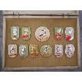 原盒十大名套章之首郑州铁路局11枚毛主席像章-¥10,324 元_像章徽章_7788网
