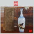 景德镇十大瓷厂厂货瓷器/手绘金鱼薄胎瓶(zc20909996)_7788收藏__收藏热线
