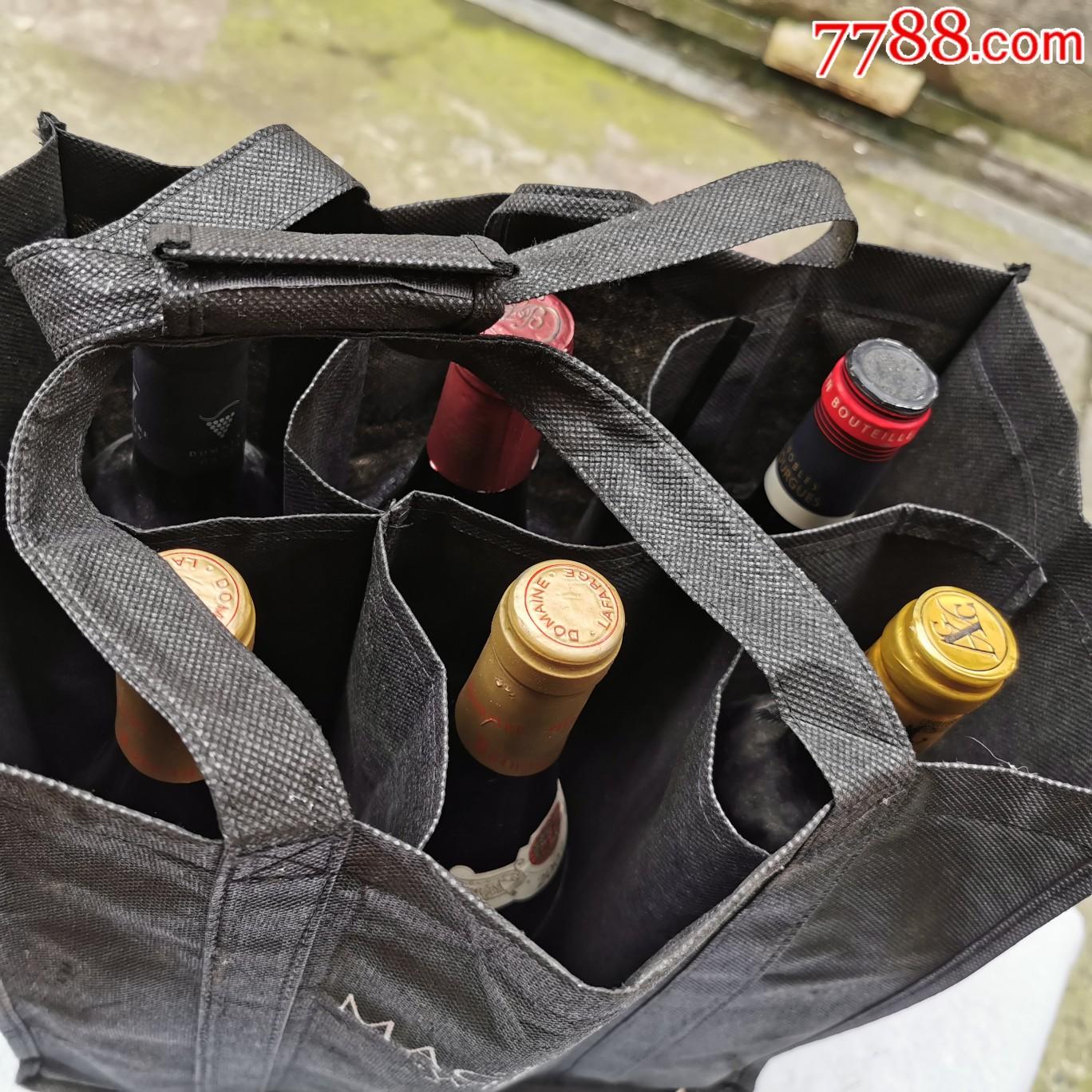 六瓶法国干红葡酒(一家人家中收)(au20915797)_