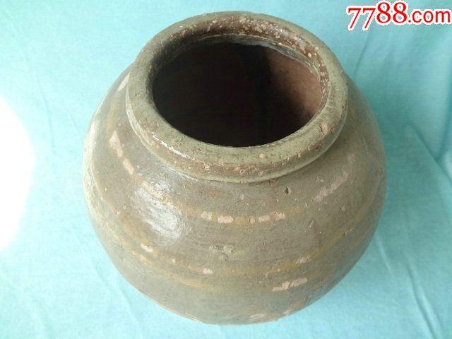龙凤呈祥老瓷罐,非常有特色的一只老瓷器,龙凤纹饰很有看点,包老_价格308元_第3张_