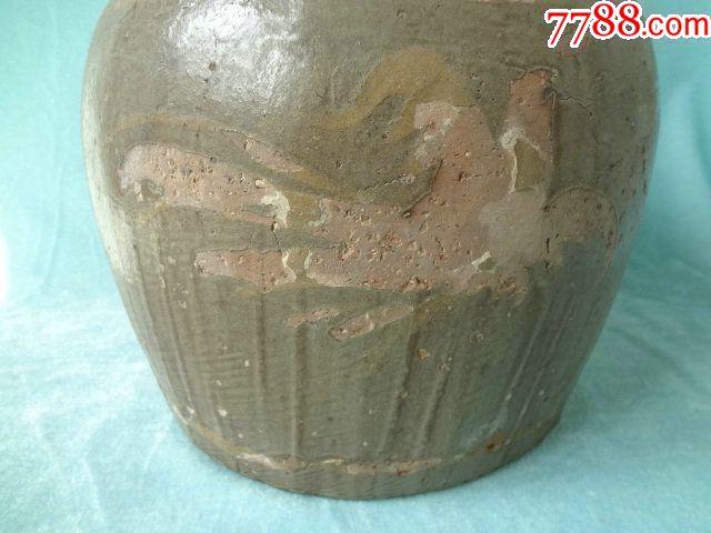 龙凤呈祥老瓷罐,非常有特色的一只老瓷器,龙凤纹饰很有看点,包老_价格308元_第4张_