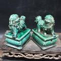 早期旧收藏五代柴窑雕刻狮子辟邪摆件民间收藏老货瓷器古董古玩(zc20935150)_馨馨馨