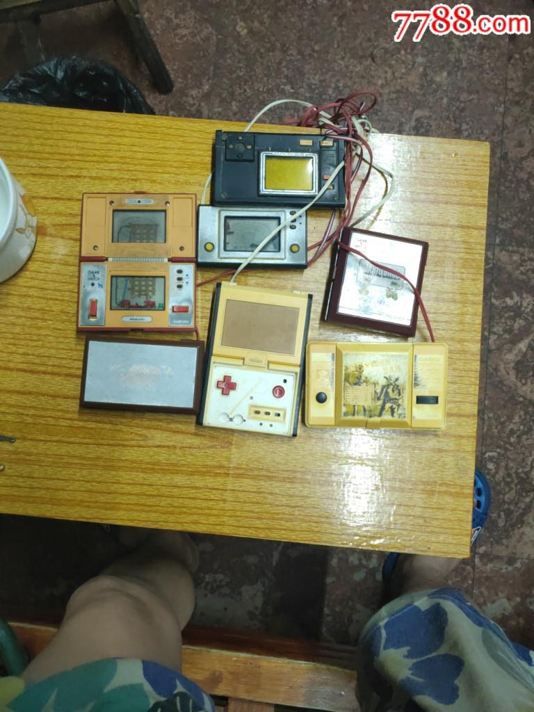 罕见80年代初日本进口掌上游戏机7台合售(au20937239)_