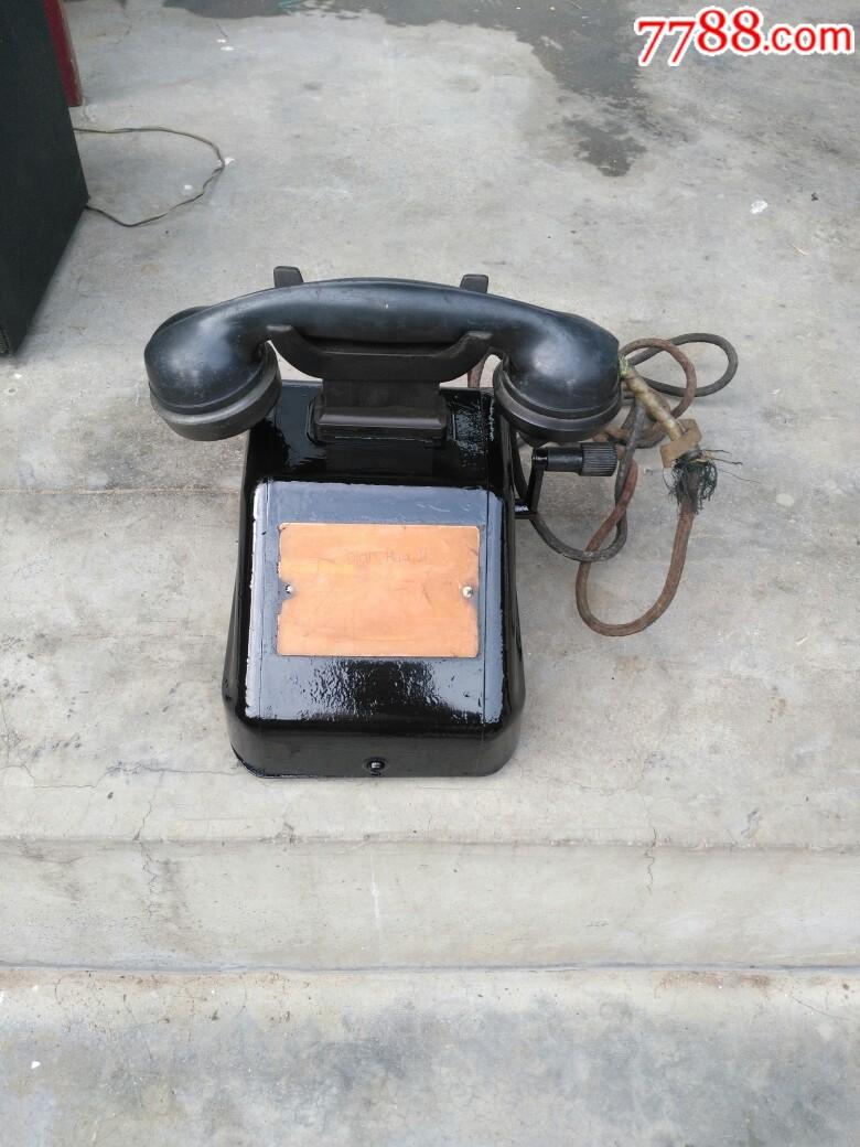 文革铁壳手摇磁石电话_价格265元_第1张_