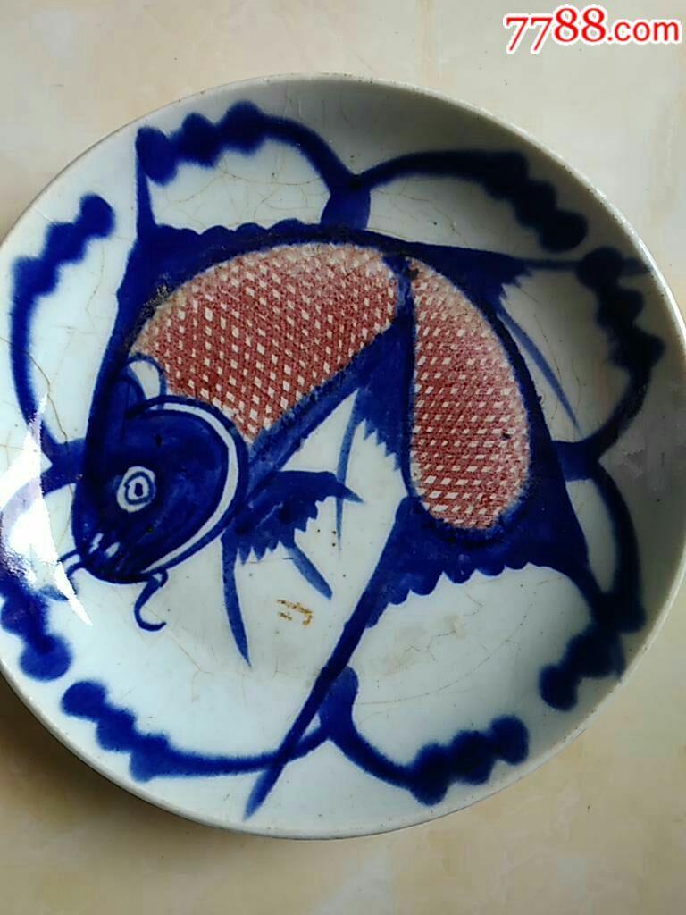 蛋糕盘手工制作图片鱼