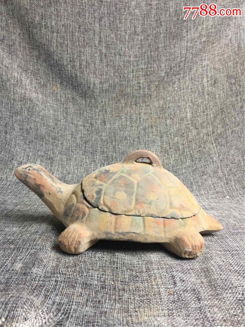 蓝陶龟型砚(au21108118)_