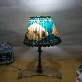 文革台灯。
