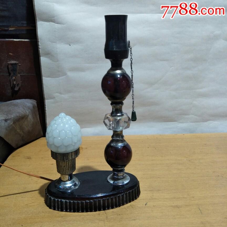 文革时期,琉璃台灯好用。_价格34元_第1张_