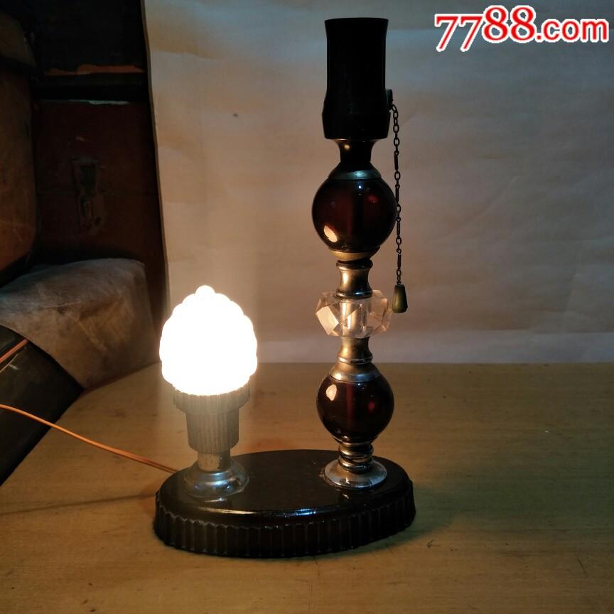文革时期,琉璃台灯好用。_价格34元_第2张_