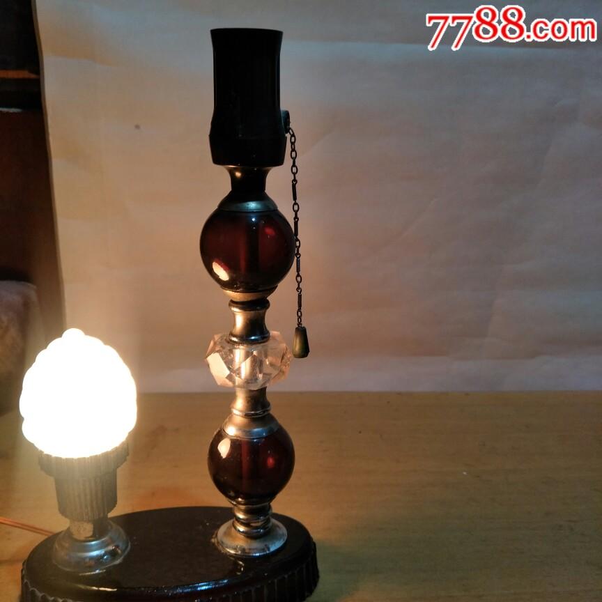 文革时期,琉璃台灯好用。_价格34元_第4张_