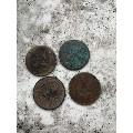 10个清末老铜元旧品流通品好品包老包真10个的价格(zc21196824)_7788收藏__收藏热线