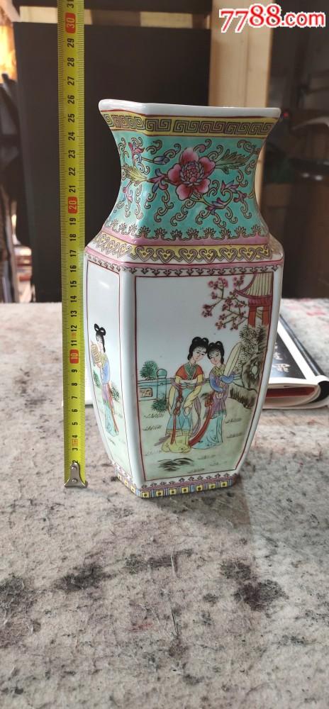 567年代的六角手工�L��花瓶(au21273665)_