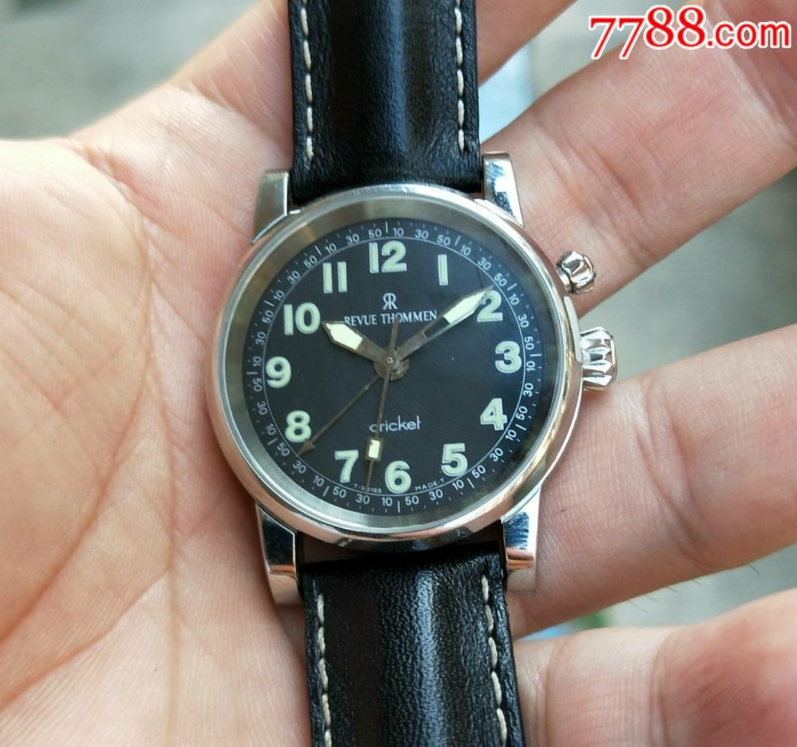 《新�l布》二手手表:稀少灰�P,瑞士古董梭曼精�款�[�手卷�C械表。表�讲缓�把�^35(au21273976)_