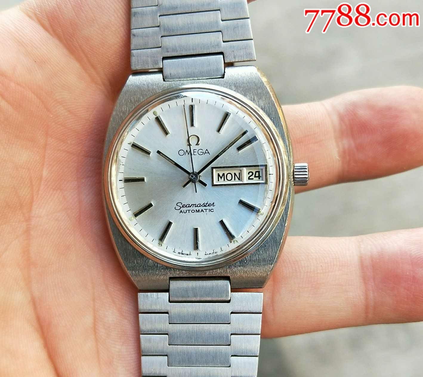 二手手表:瑞士古董�W米茄1020原�b�ё��C械表(au21303989)_