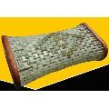 大型天然玉雕枕頭直徑28厘米高10厘米