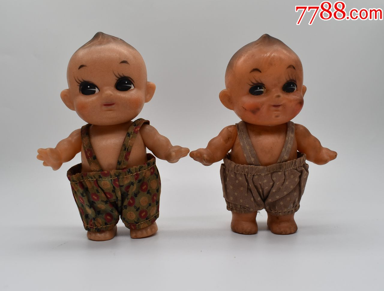 """五~六十年代�z皮娃玩具""""哥�z好""""(au21427036)_"""