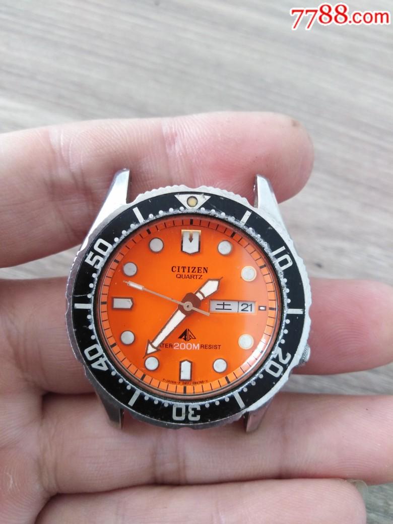 西鐵城石英潛水款男表_價格120元_第1張_