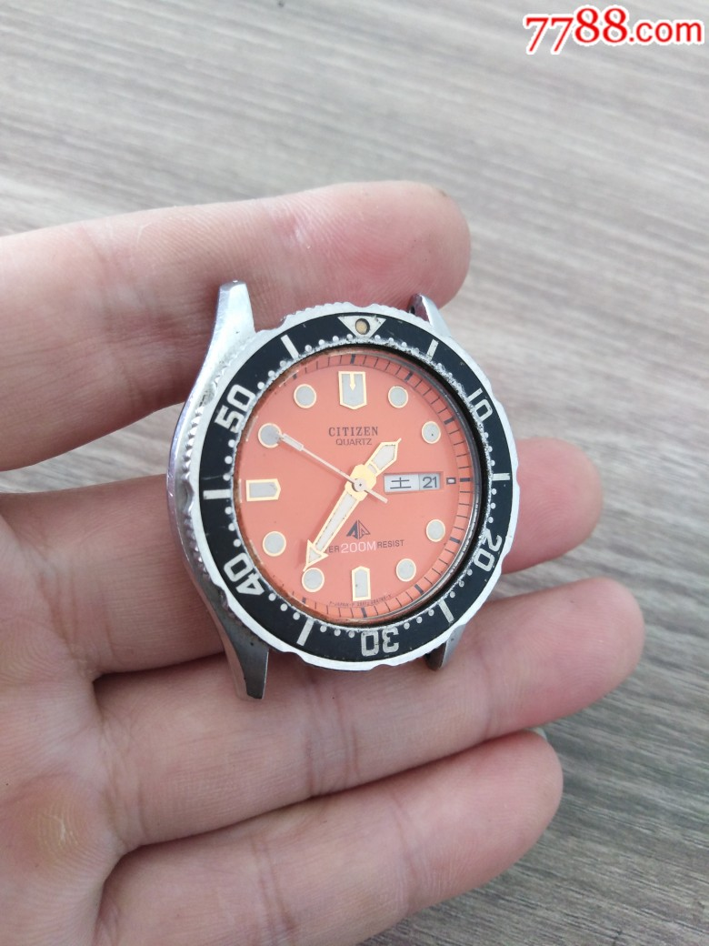 西鐵城石英潛水款男表_價格120元_第2張_