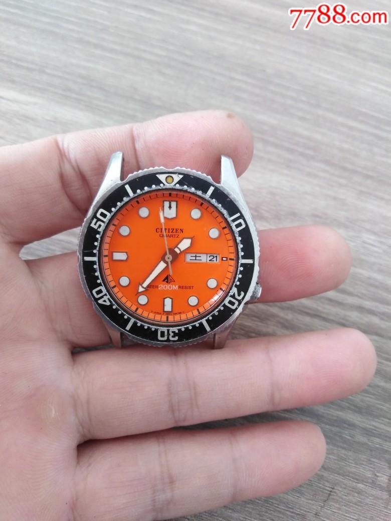 西鐵城石英潛水款男表_價格120元_第6張_
