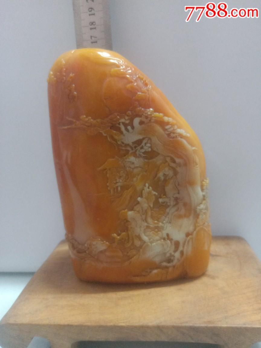非常漂亮的一�K石雕刻�[件,本人不懂什么石,�o托�y拍,喜�g的��(au21579070)_