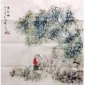 王明明手�L四尺斗方【煮茗�D】(zc21620889)_7788收藏__收藏�峋�