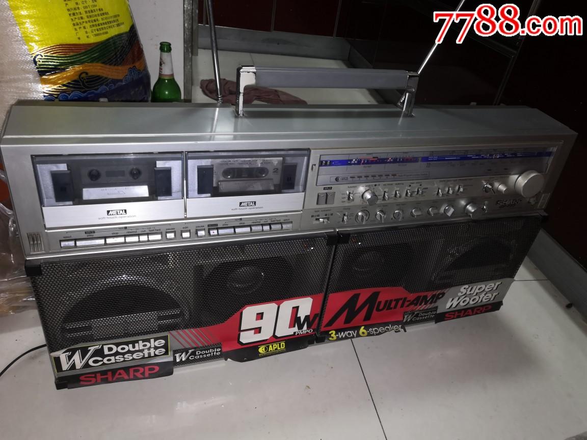 一代机王,夏普GF777收录机,功能正常,品相不错,音质倍棒,难得一见,收藏佳品(au21785322)_