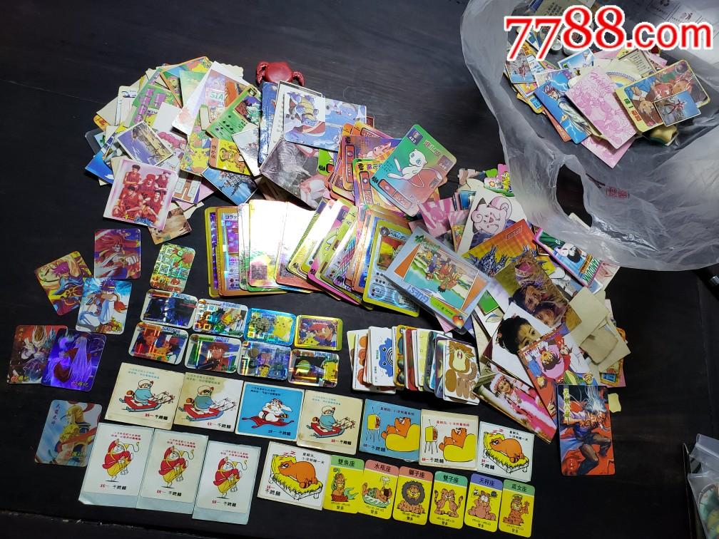 天族,小浣熊,恐龙,七龙珠(食品卡一堆合售)(au21926933)_