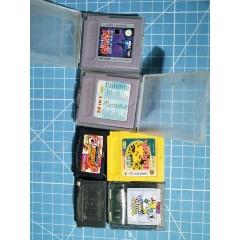 游戏机卡带几盘一起拍
