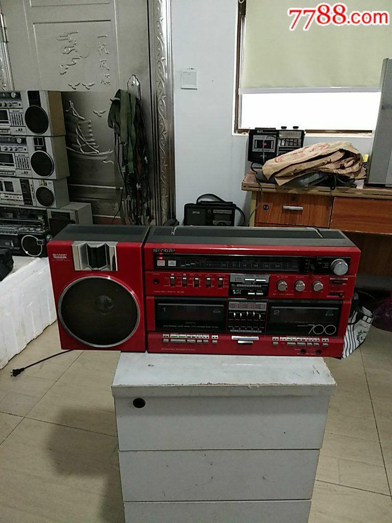 紅色夏普GF~700ZR機(右邊少音箱,初九發貨)_價格563元_第1張_