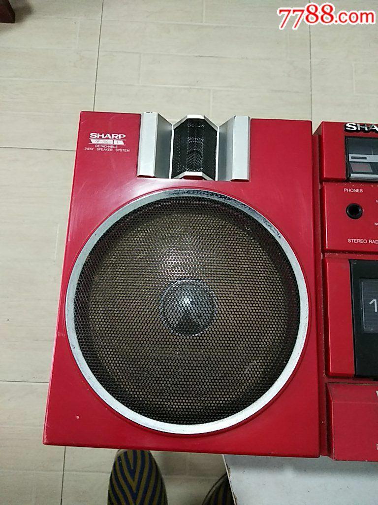 紅色夏普GF~700ZR機(右邊少音箱,初九發貨)_價格563元_第14張_