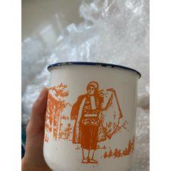 人物搪瓷缸搪瓷缸