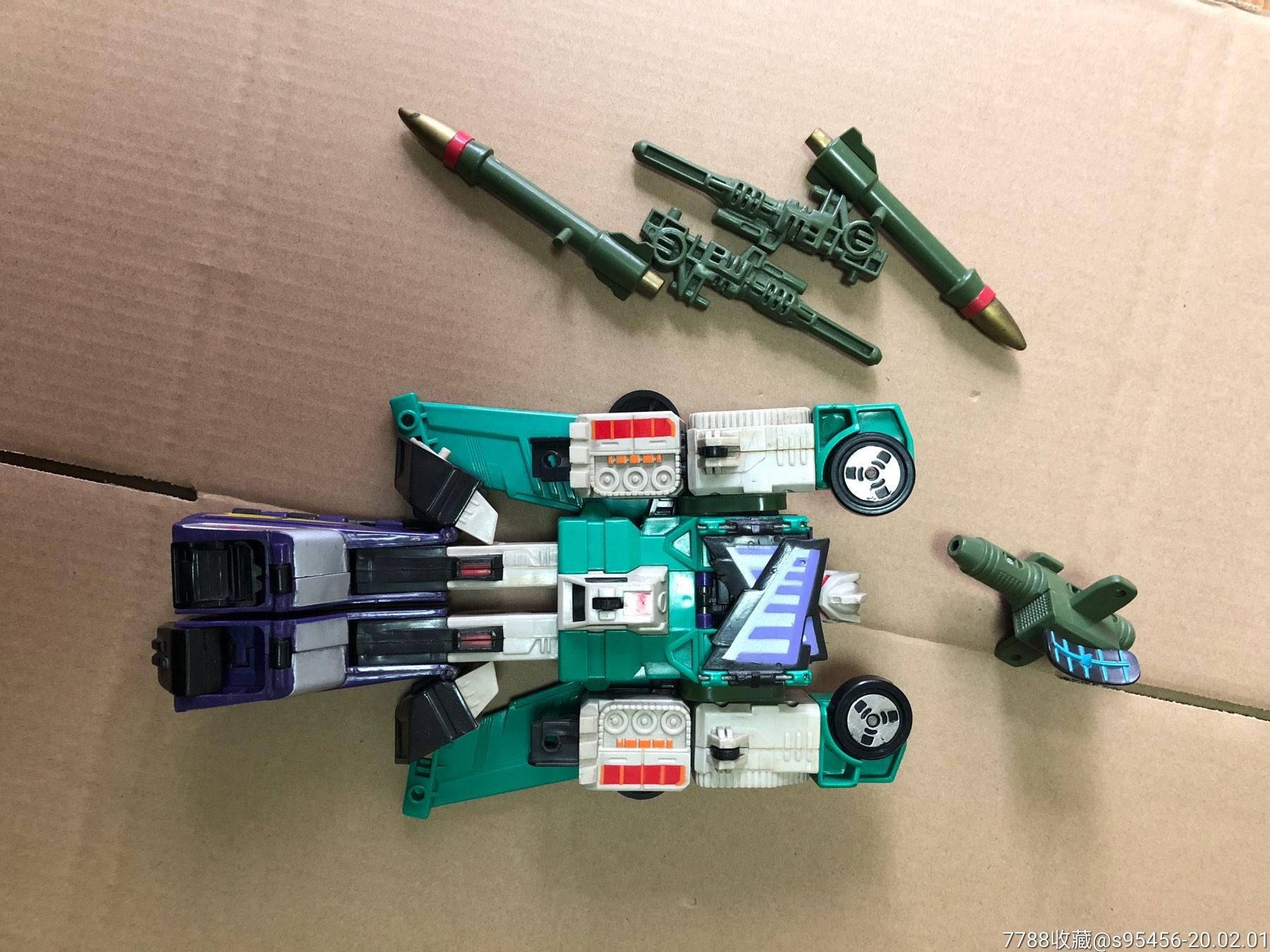 1992年变形金刚玩具-------六面兽一套(au22227226)_
