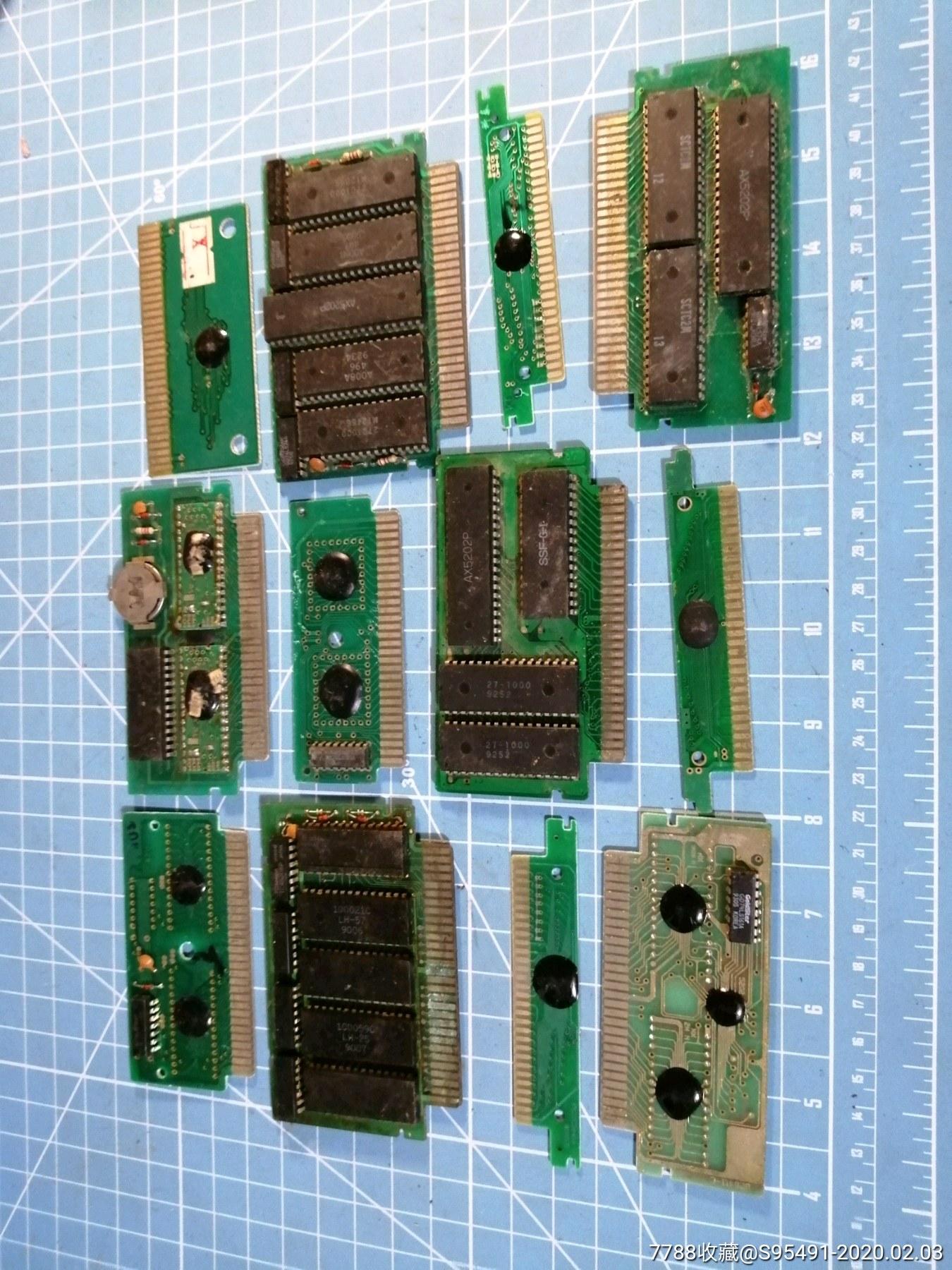 游戏机卡带大几十盘一起拍_价格165元_第2张_