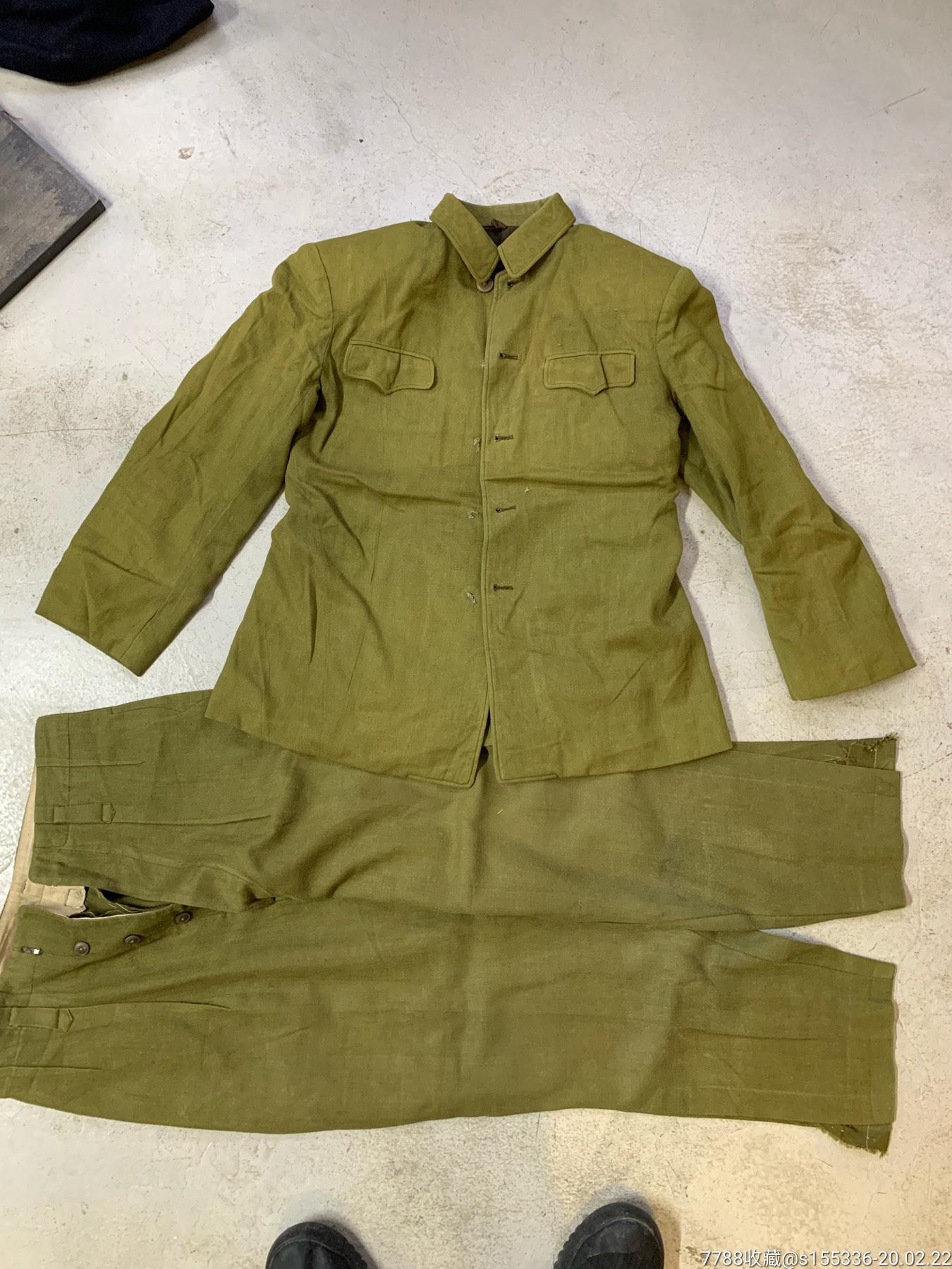 50式高級軍官付一套(豆綠色)(品自定)(au22329514)_7788收藏__收藏熱線